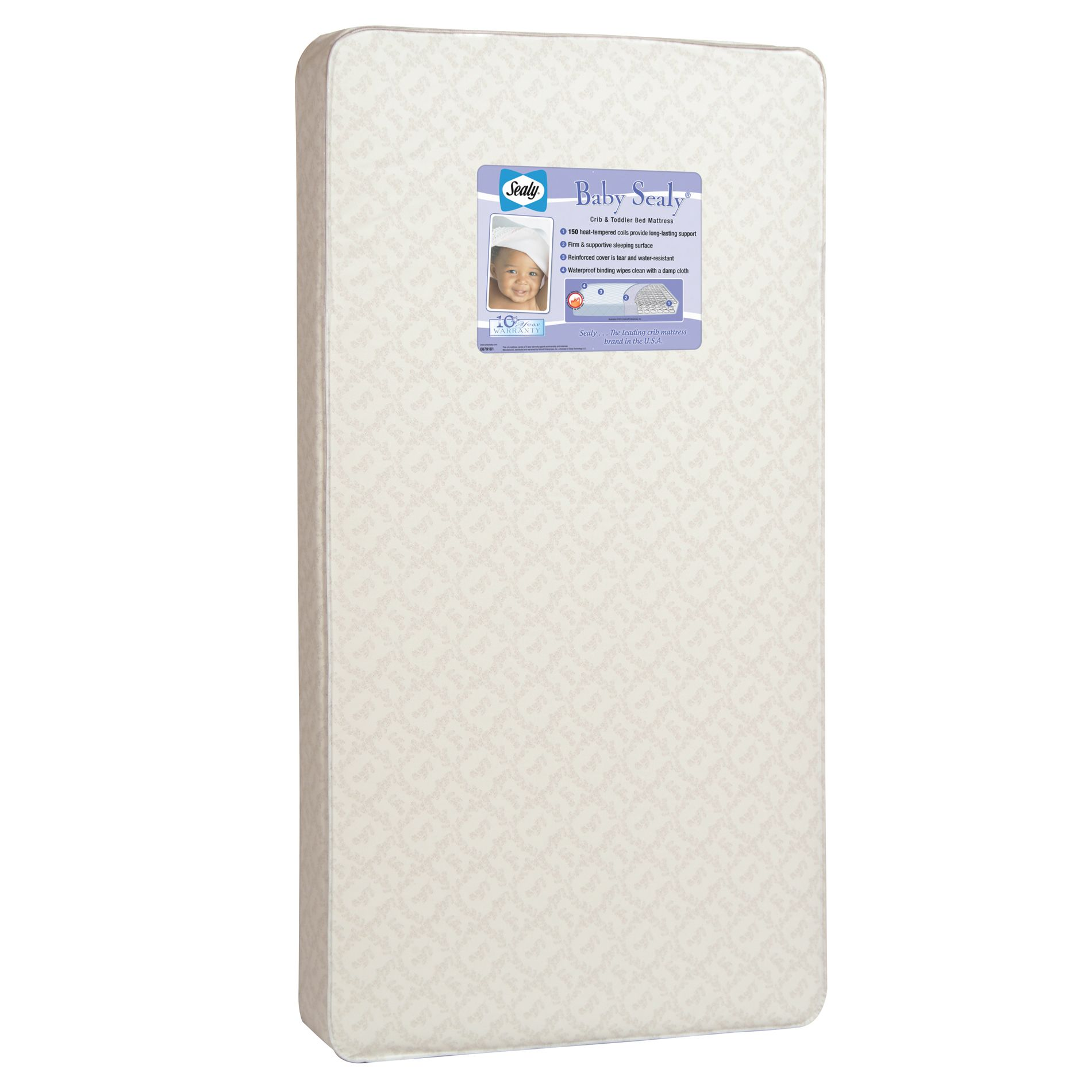 Kolcraft Baby Sealy Crib And Toddler Bed Mattress