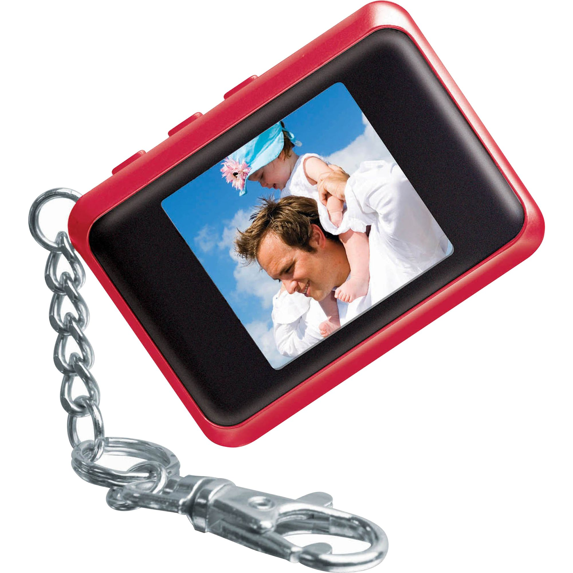 Kmart Digital Photo Frame Coby 1 5 In Digital Photo Keychain Red Tvs
