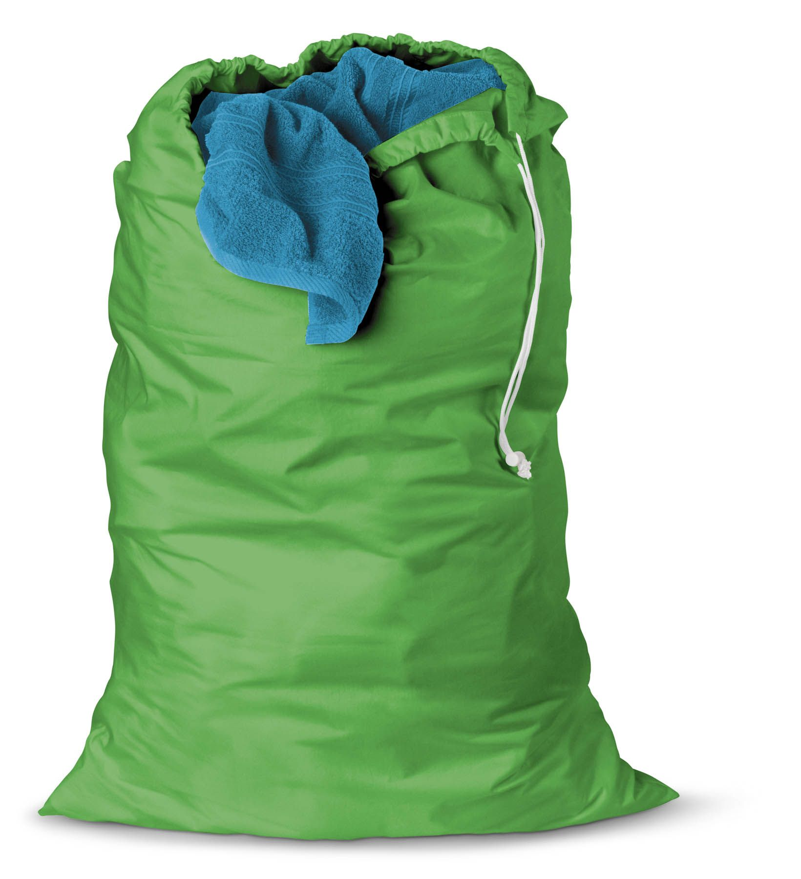 Where Can I Buy Laundry Bags Honey Can Do Set Of 2 Jersey Cotton Laundry Bag Green