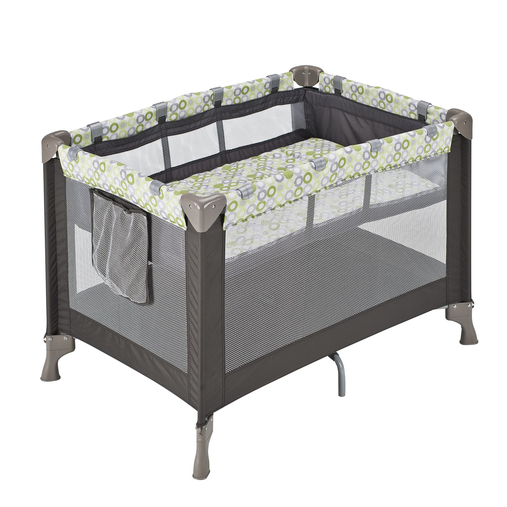 Playpen Baby Playing Evenflo Babysuite Classic Playard Mesa Green