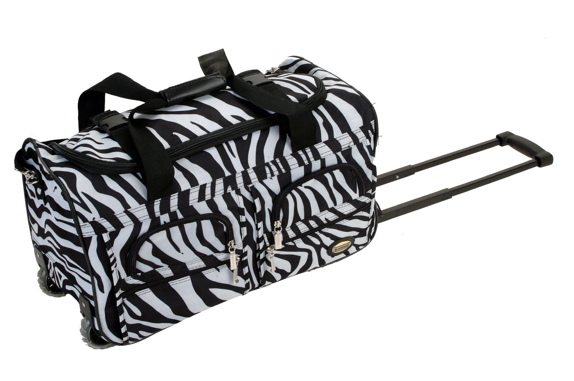 Travel Bag Kmart Rockland Fox Luggage 22 Quot Rolling Duffle Bag Home