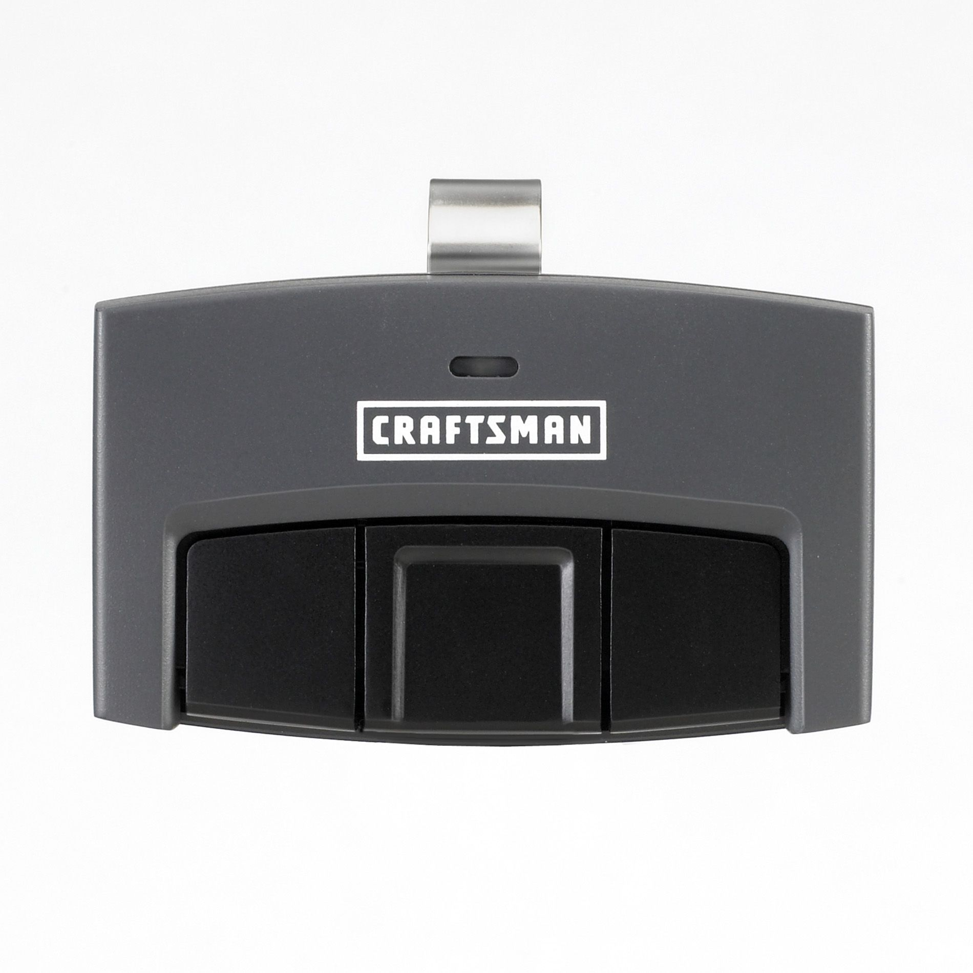 Garage Door Opener Remote Set Up Craftsman 3 Function Visor Remote Control Garage Door Opener