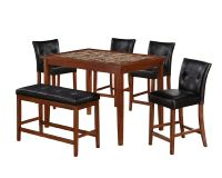 Faux Marble Dining Table Set: Dine Well with Sears