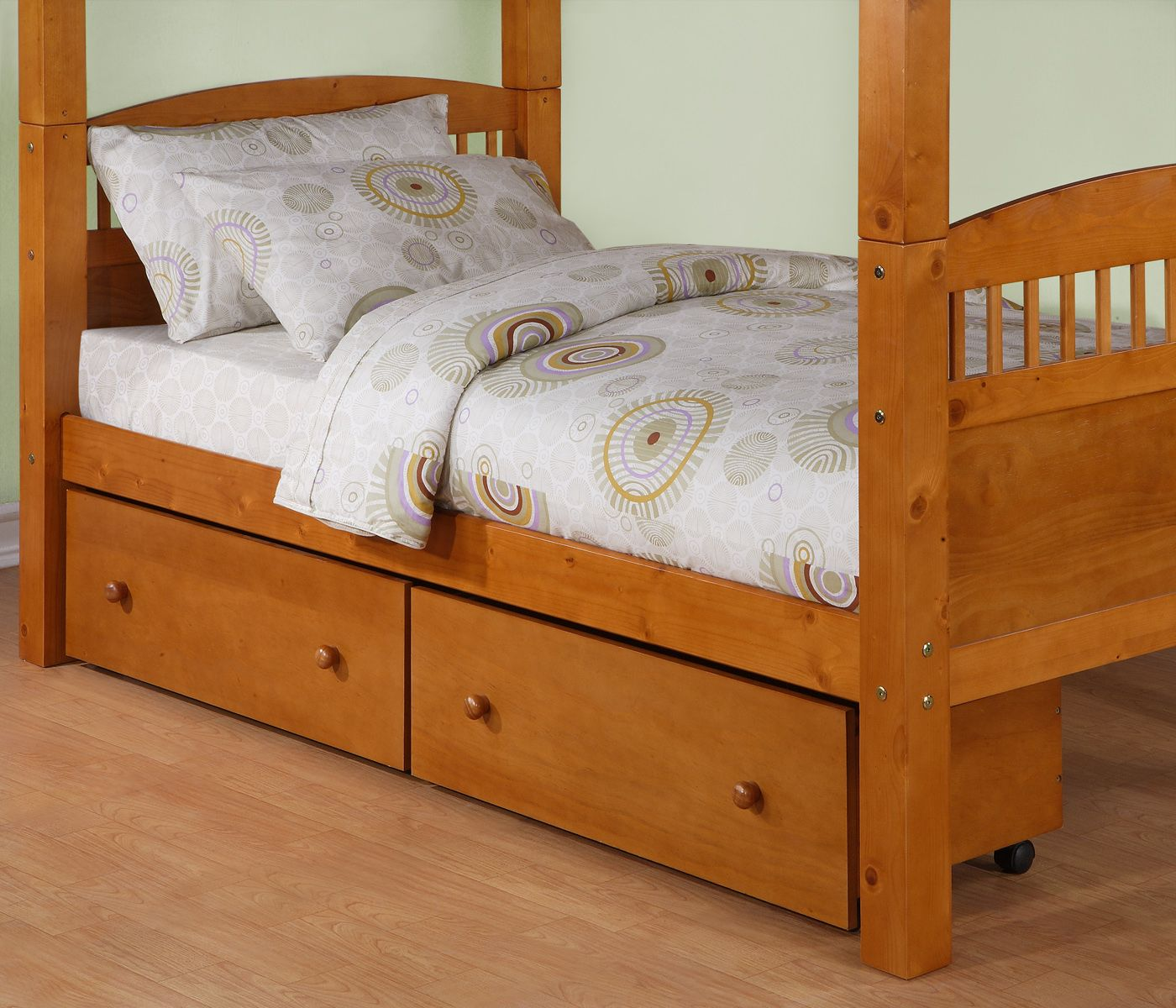 Pull Out Bed Under Bed Dorel Pine 2 Pack Underbed Storage Drawers