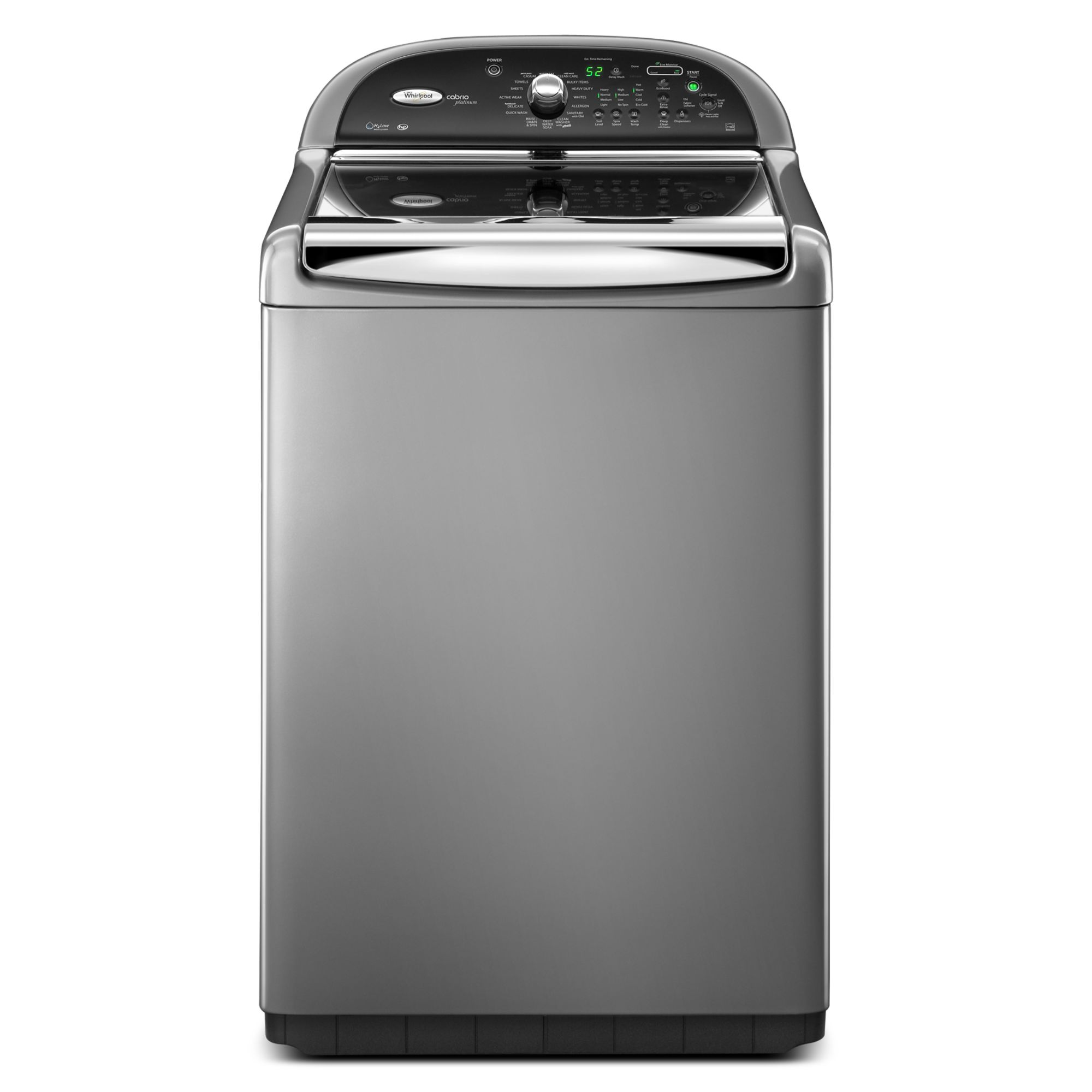 Whirlpool 4 6 Cu Ft Top Load High Efficiency Washer Feedset - Top Loading Washers