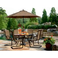 Jaclyn Smith Today Dawson Aluminum Table - Outdoor Living ...
