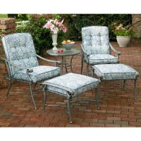 Jaclyn Smith Palermo Replacement Chair Cushion - Outdoor ...