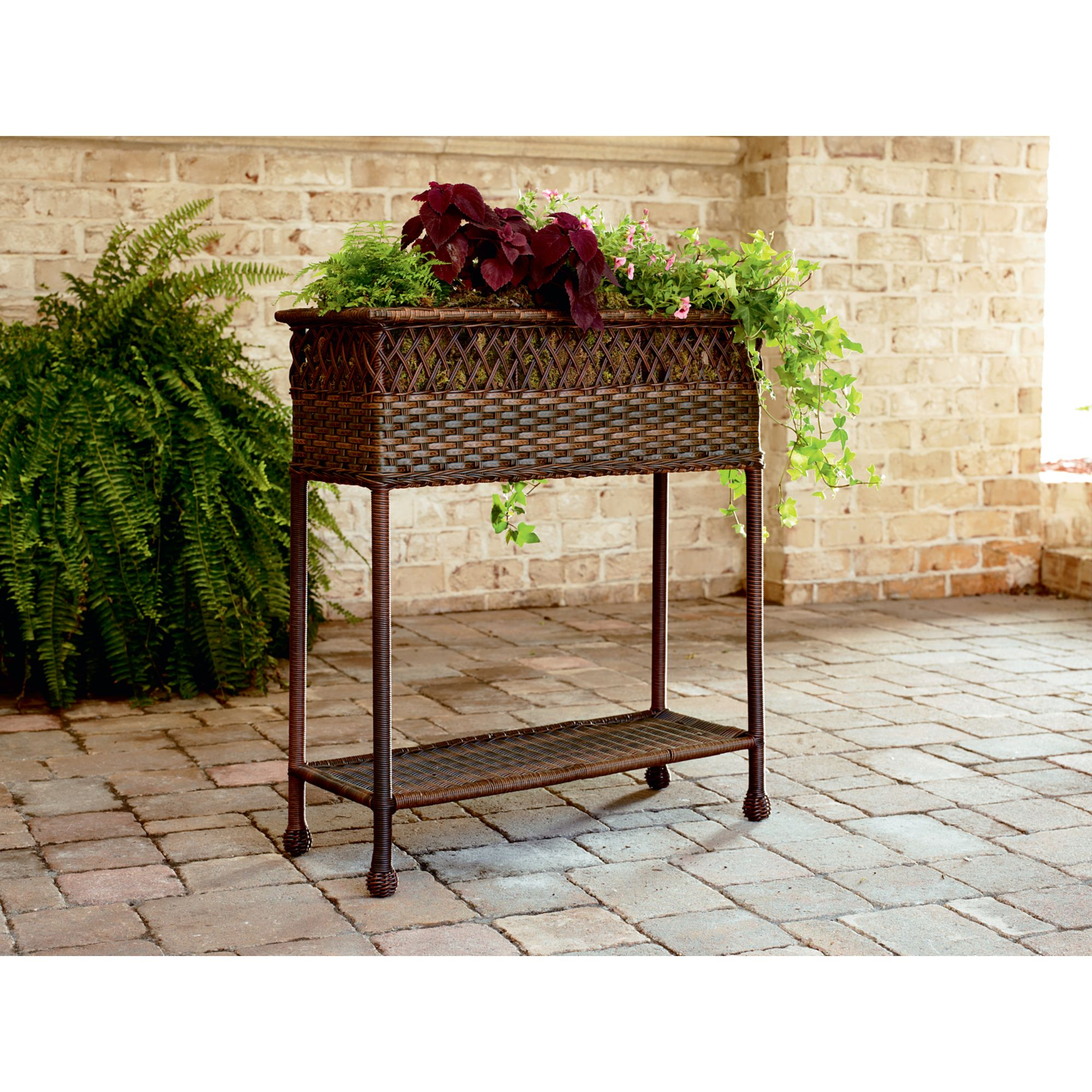 Bamboo Planter Stand Ty Pennington Mayfield Planter Bring Style Outdoors With