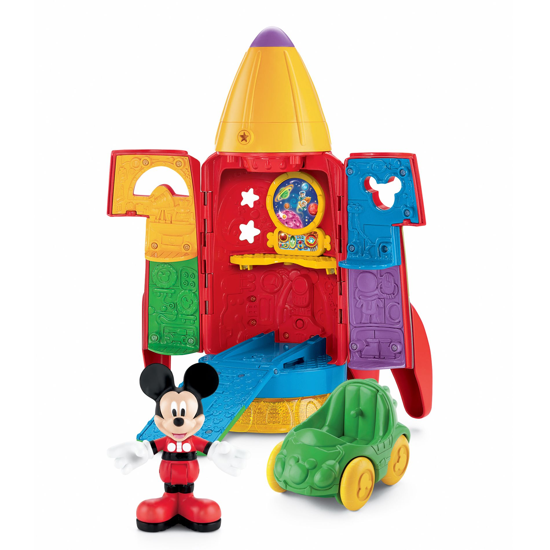 Giochi Mickey Mouse Disney Mickey 39s Blast Off Rocket Toys And Games Dolls