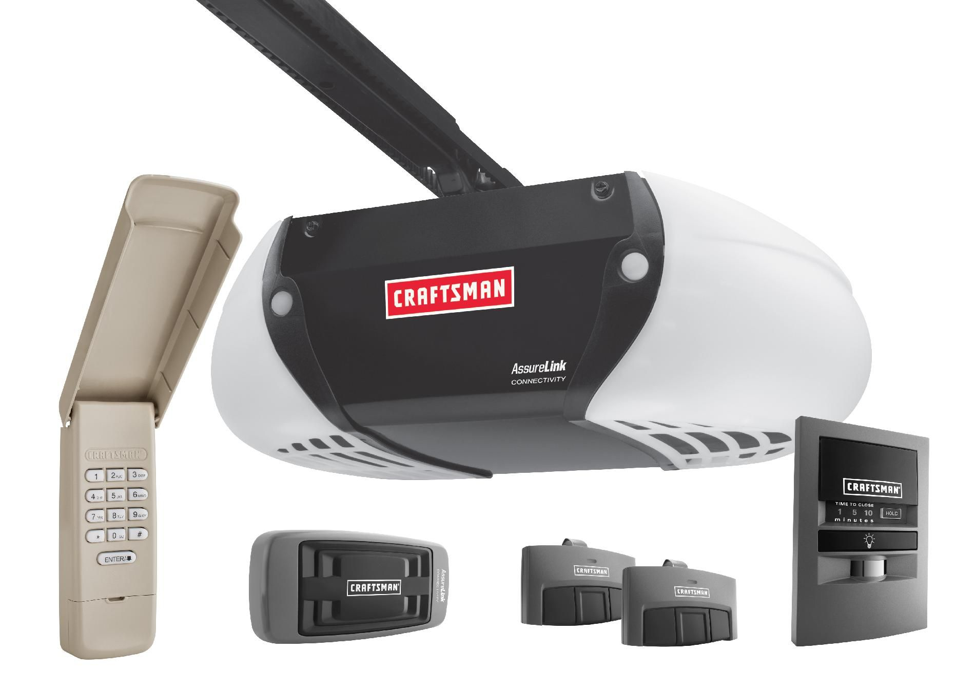 Garage Door Opener Coupons Craftsman Assurelink™ Internet Connected Dc Chain Drive