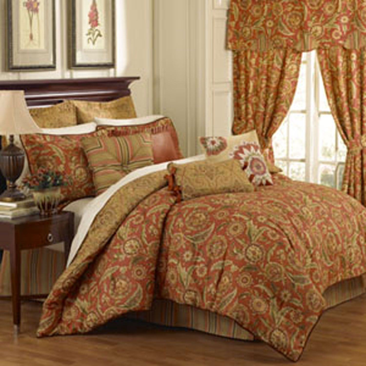 Waverly Grand Bazaar Bedding Collection: Queen Size