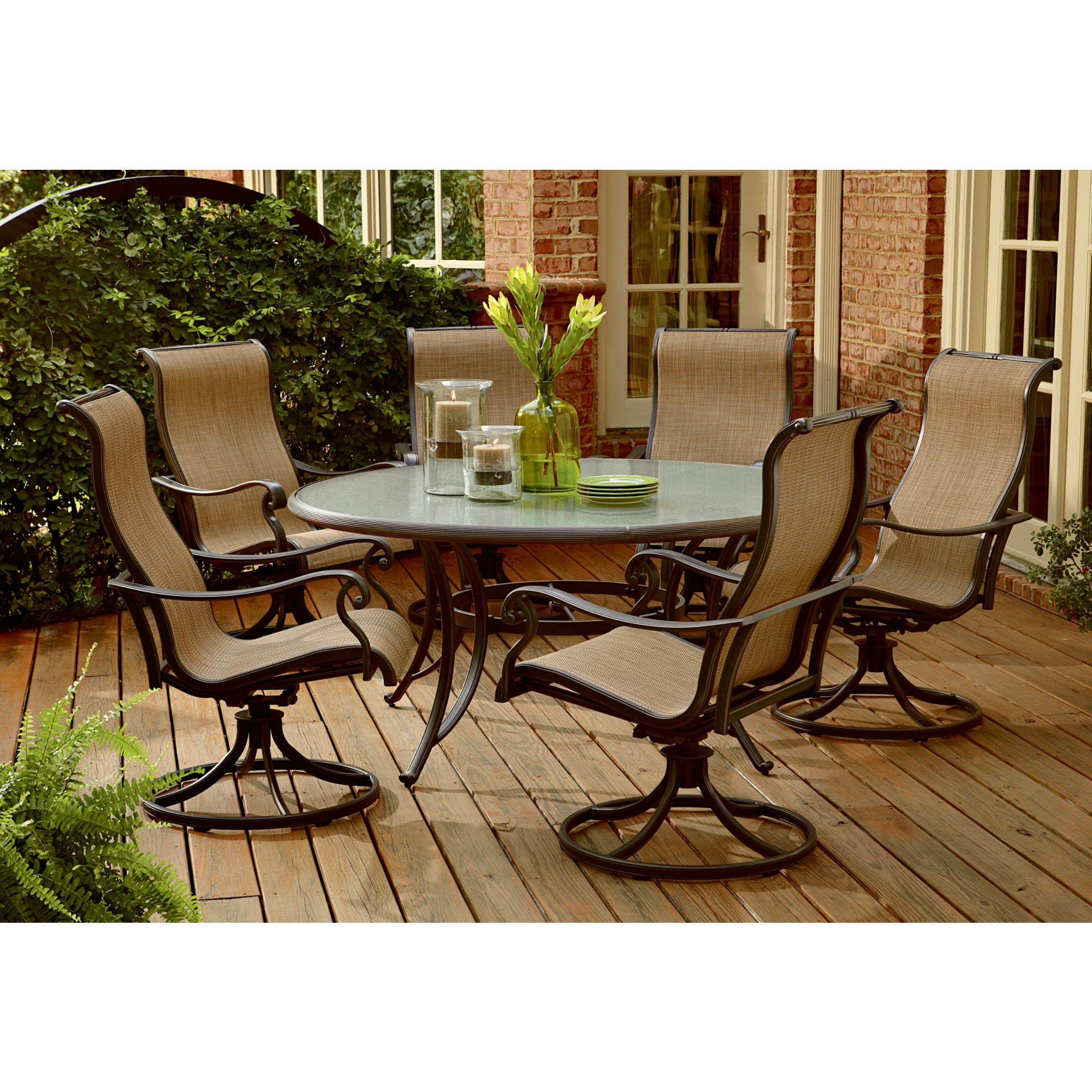 7 Piece Round Patio Dining Set Panorama 7 Piece Patio Dining Set Improve Your Life And