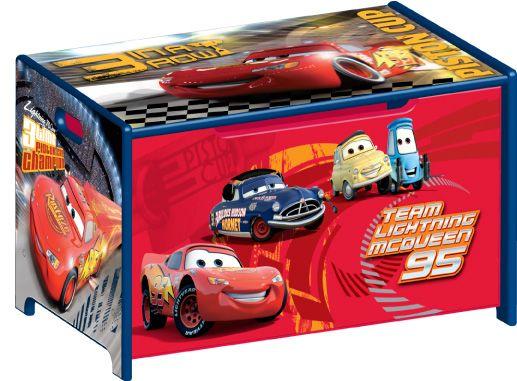 Delta Disney Pixar Cars Team Lightning Mcqueen Toy Box