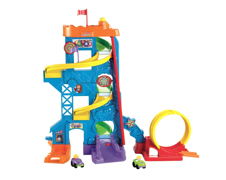 Fisher Price Wheelies Loops N Swoops Amusement Park Fun