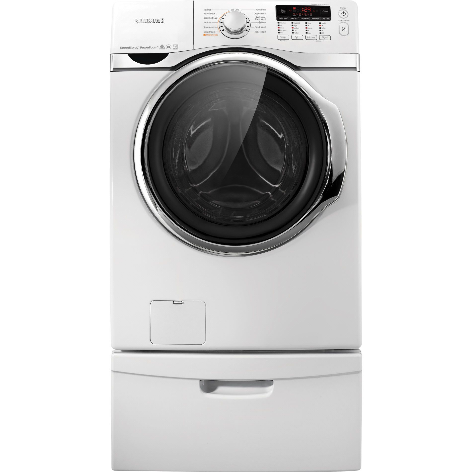 Samsung Front Load Washer Samsung Front Load Washer 4 Cu Ft Wf405atpawr Sears