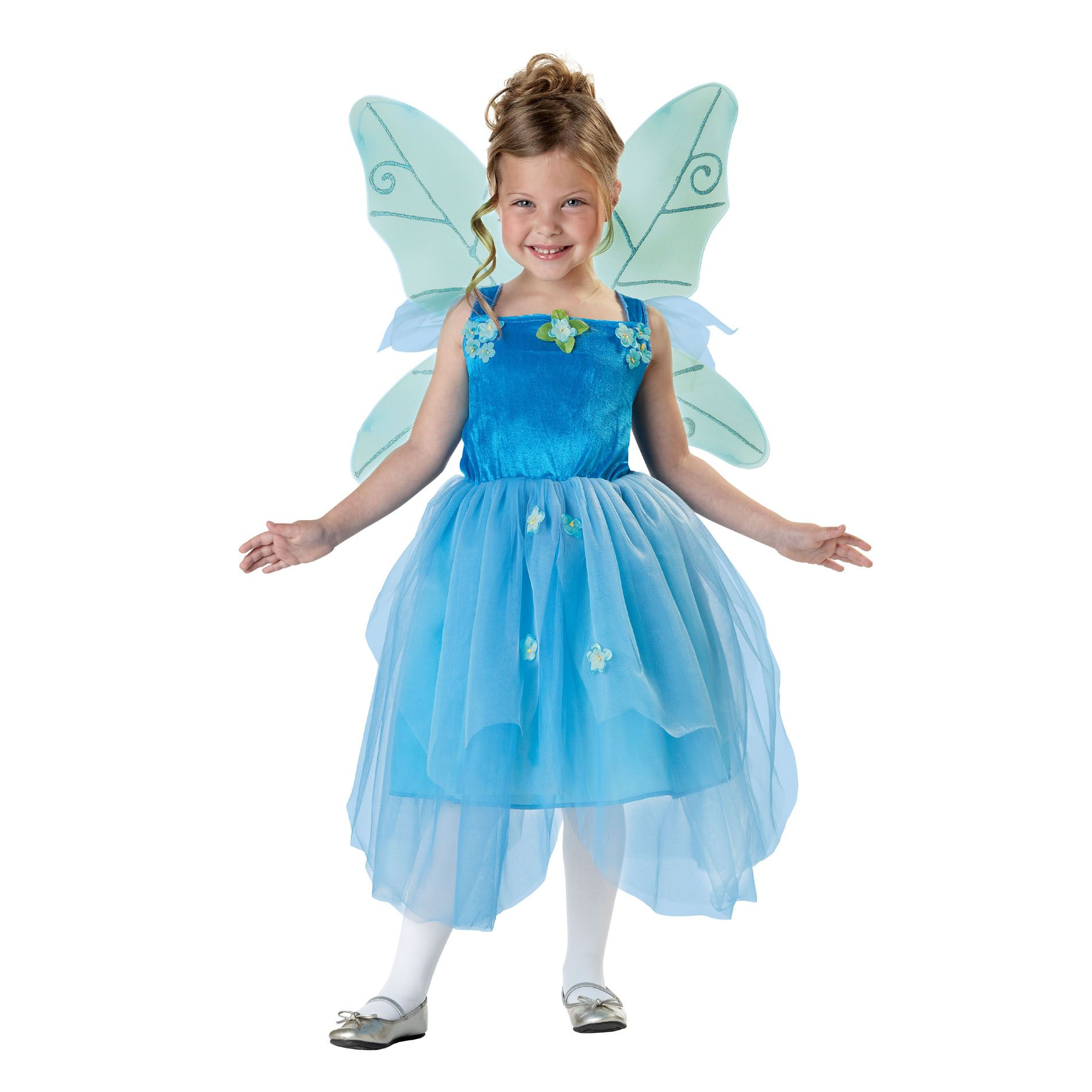 Totally Ghoul Blue Pixie Fairy Girl Seasonal Halloween