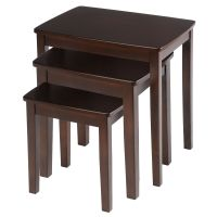 Bay Shore Collection 3 Piece Nesting End Table Set ...