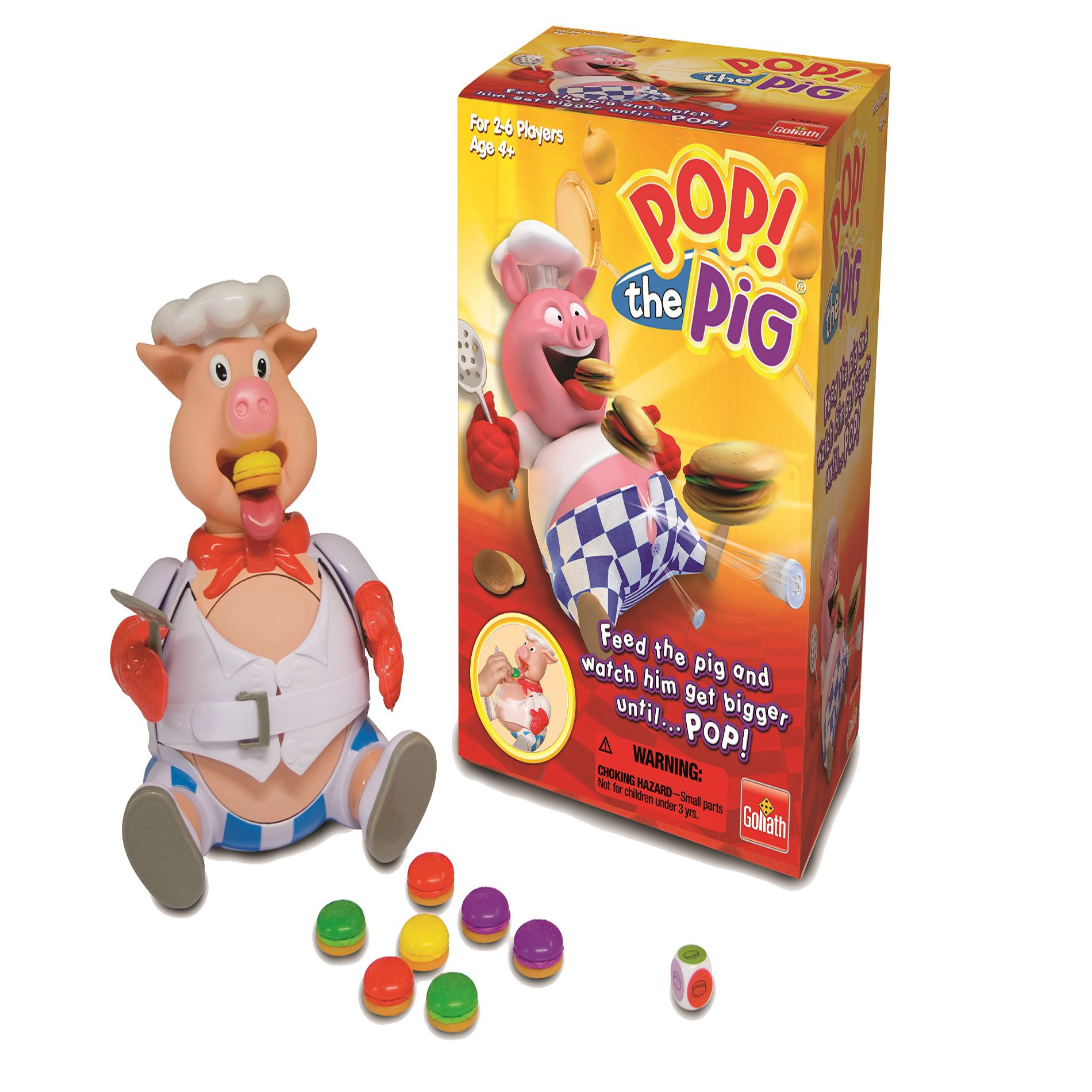 Pop The Pig Big W Goliath Games Pop The Pig