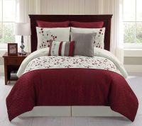 8-Piece Embroidered Comforter Set - Sadie