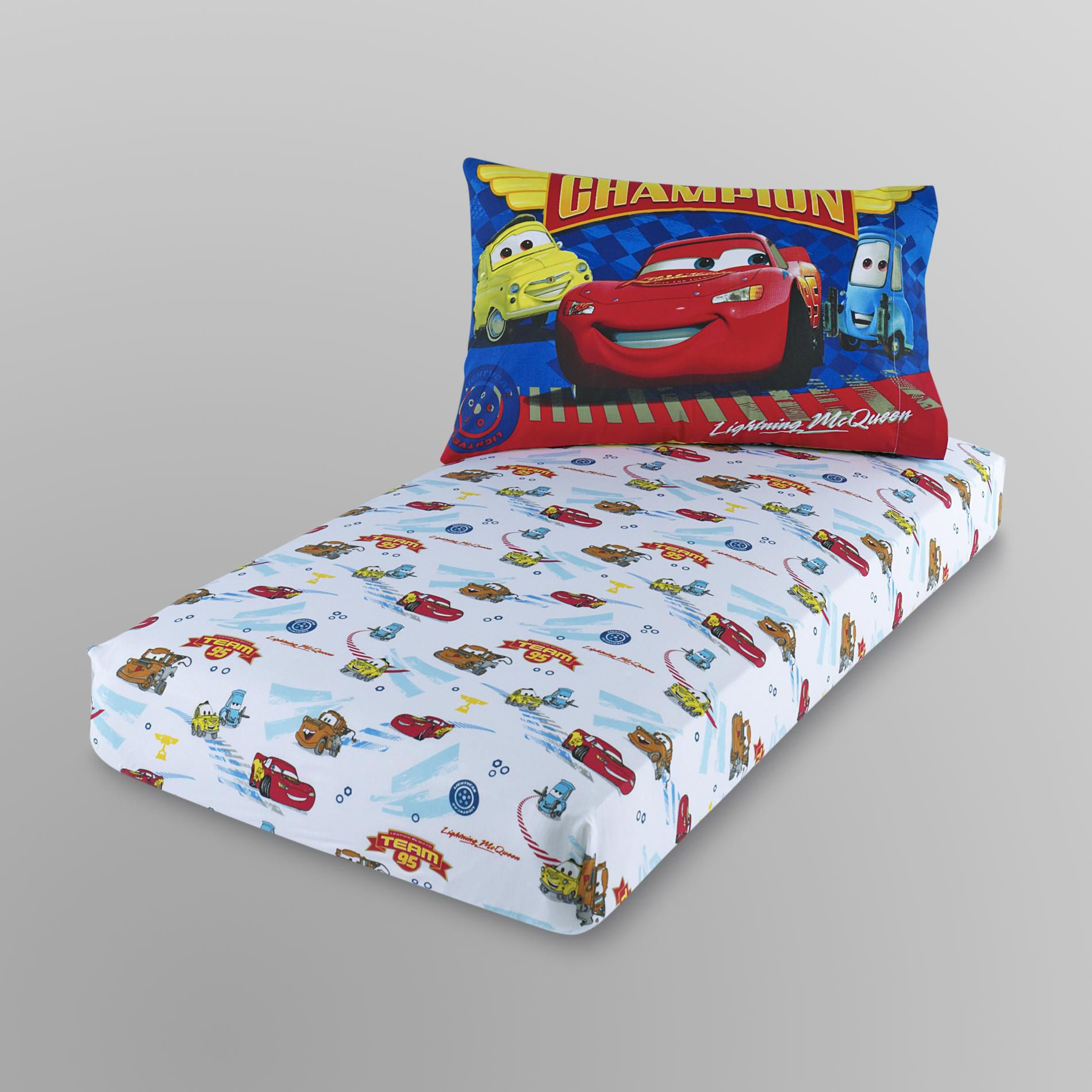 Disney Toddler Boy 39 S Pillow Case Fitted Sheet Cars - Babies R Us Infant Pillow