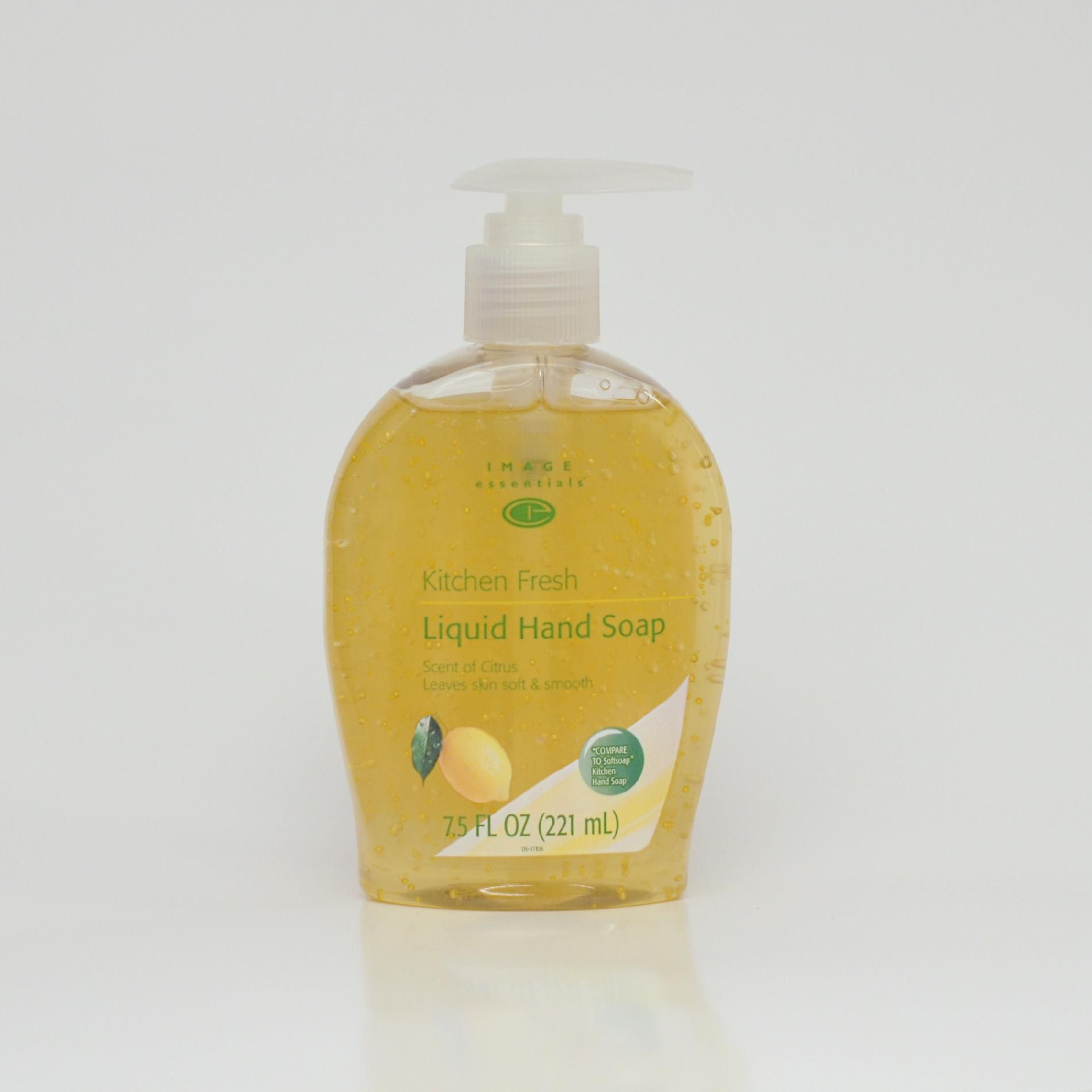 Kitchen Hand Lotion Image Essentials Liquid Hand Soap Aloe 7 5 Oz Beauty
