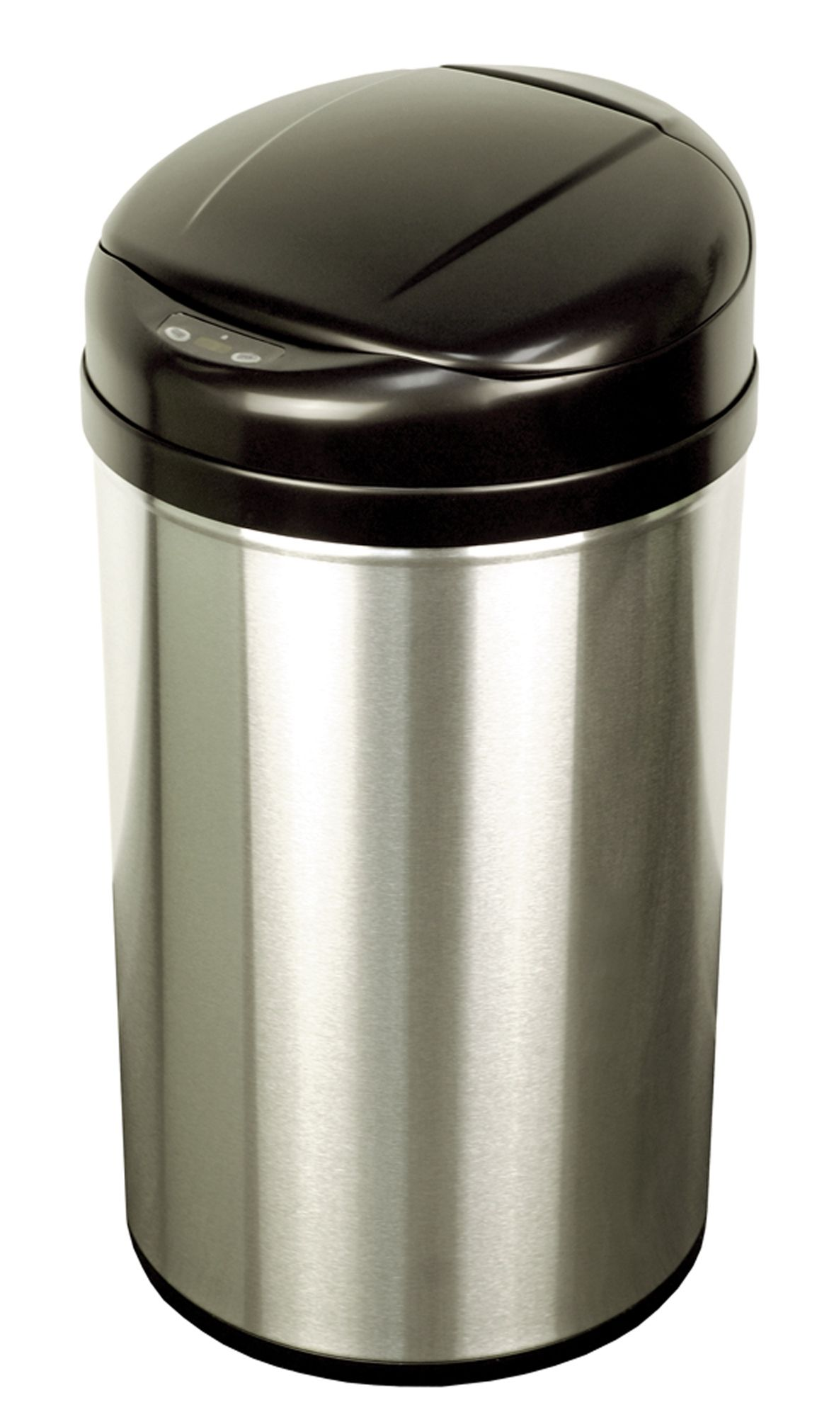 Trash Can With Lid Kitchen Nine Stars Infrared Motion Sensor Lid Open Trash Can