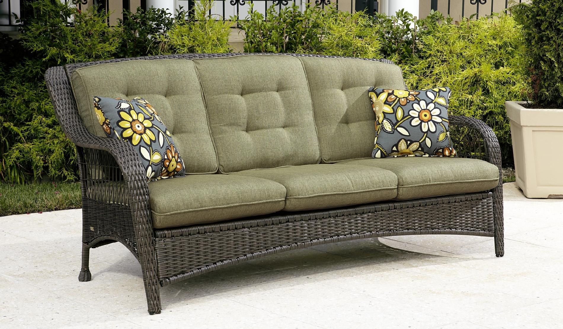 Outdoor Couch 3 Seat Patio Sofa Sofa Lovely 3 Seat Patio Home Decorators