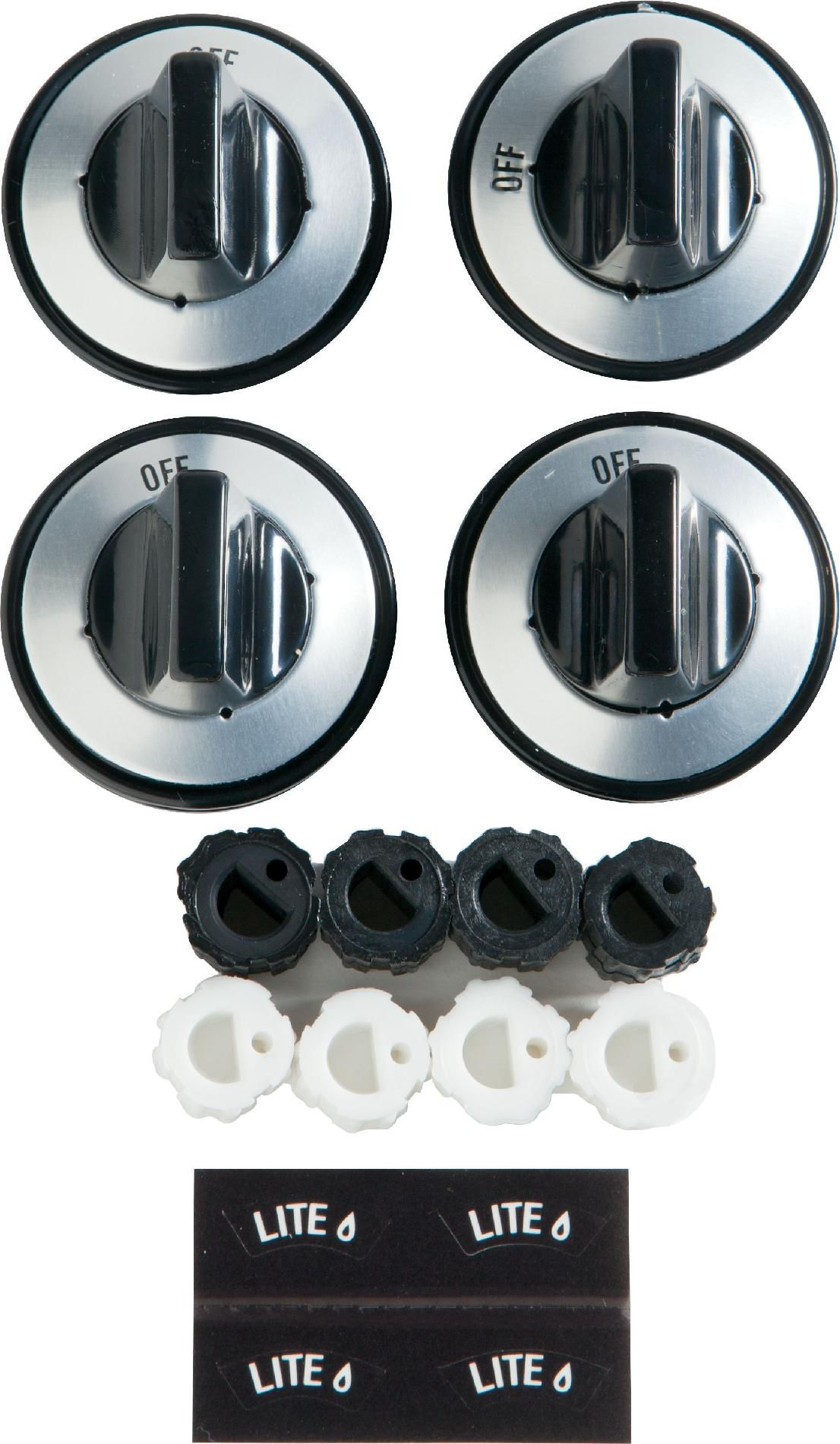 Gas Cooktop Installation Cost Ge Appliances Pm3x88ds Partsmaster Gas Burner Knobs 4 Pack