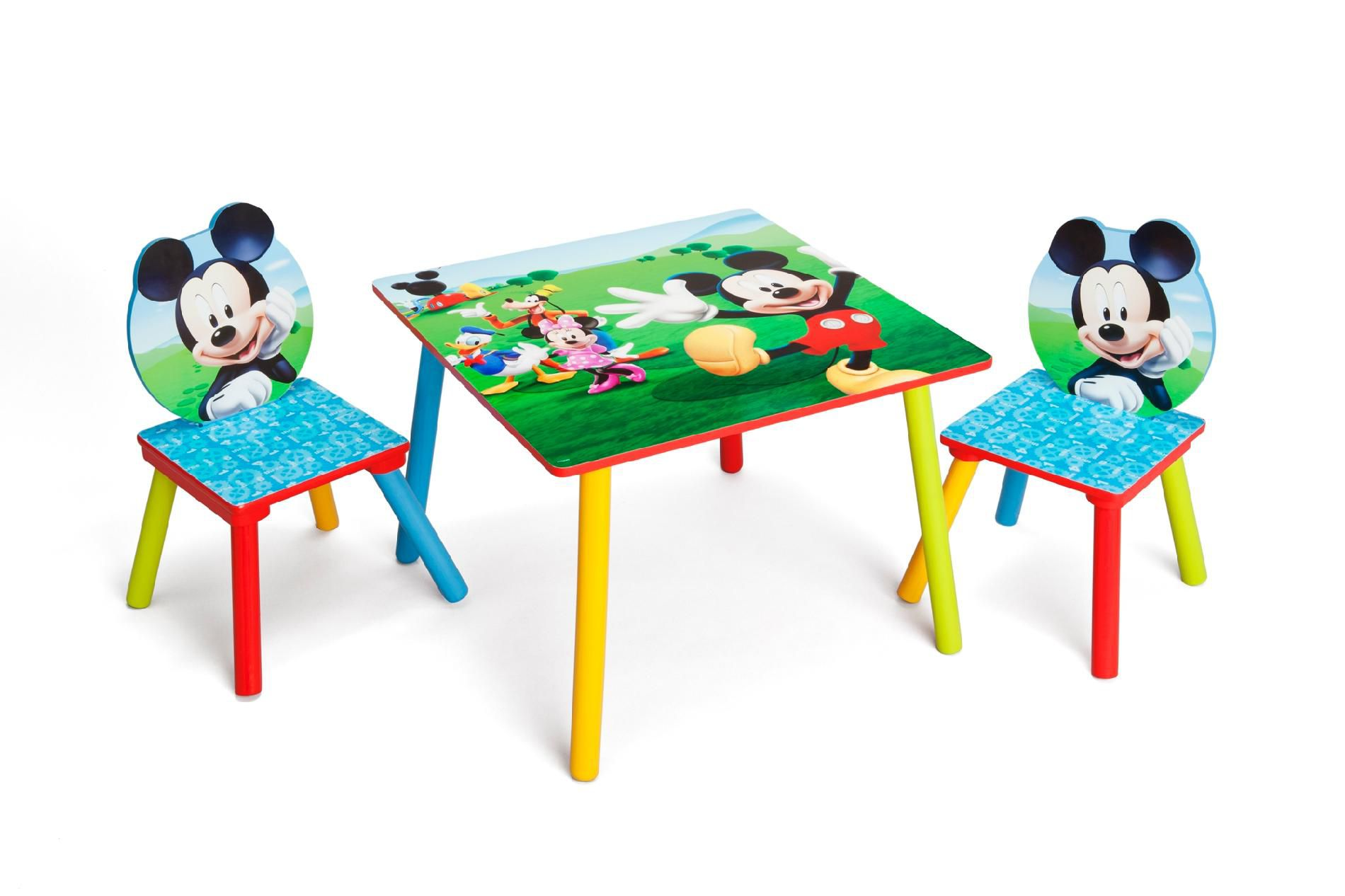 Childrens Wooden Table And Chairs Delta Children Mickey Mouse Child S Table And Chair Set