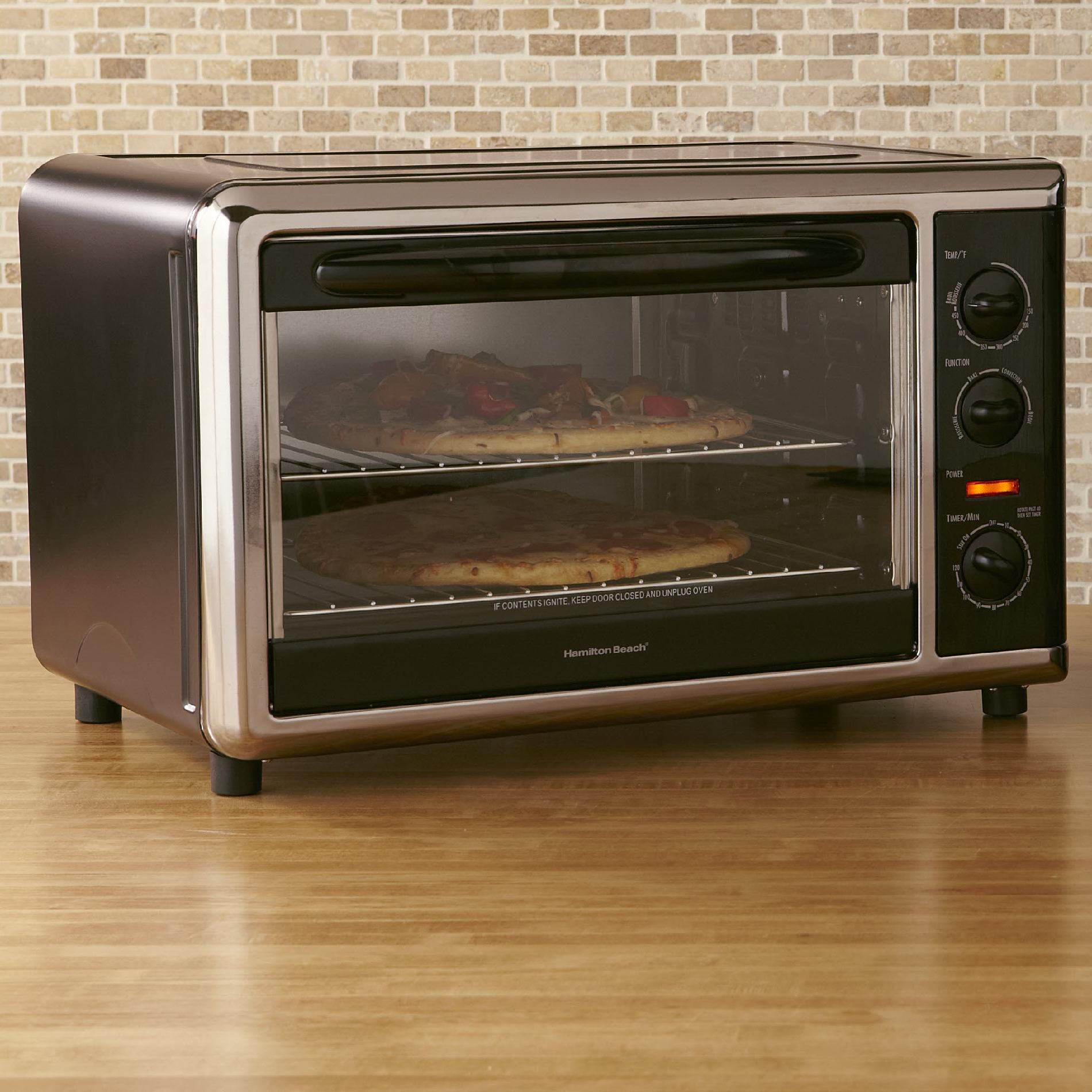 Countertop Rotisserie Ovens Hamilton Beach Brands Inc Large Countertop Oven