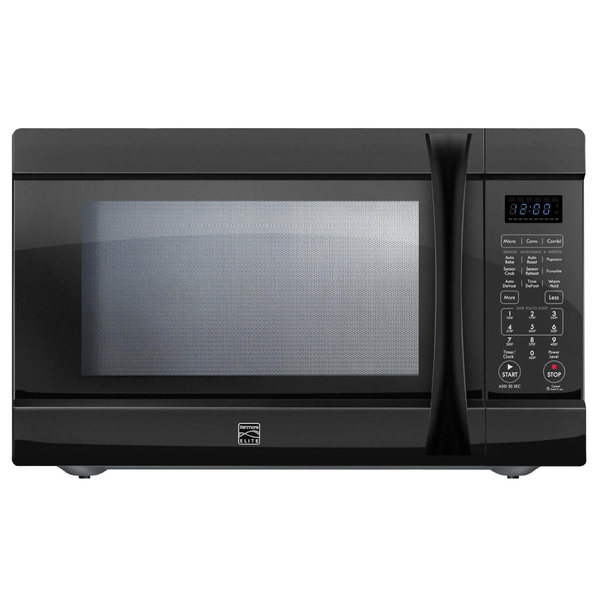 Countertop Microwave Convection Ovens Kenmore Elite 1 5 Cu Ft Countertop Microwave W