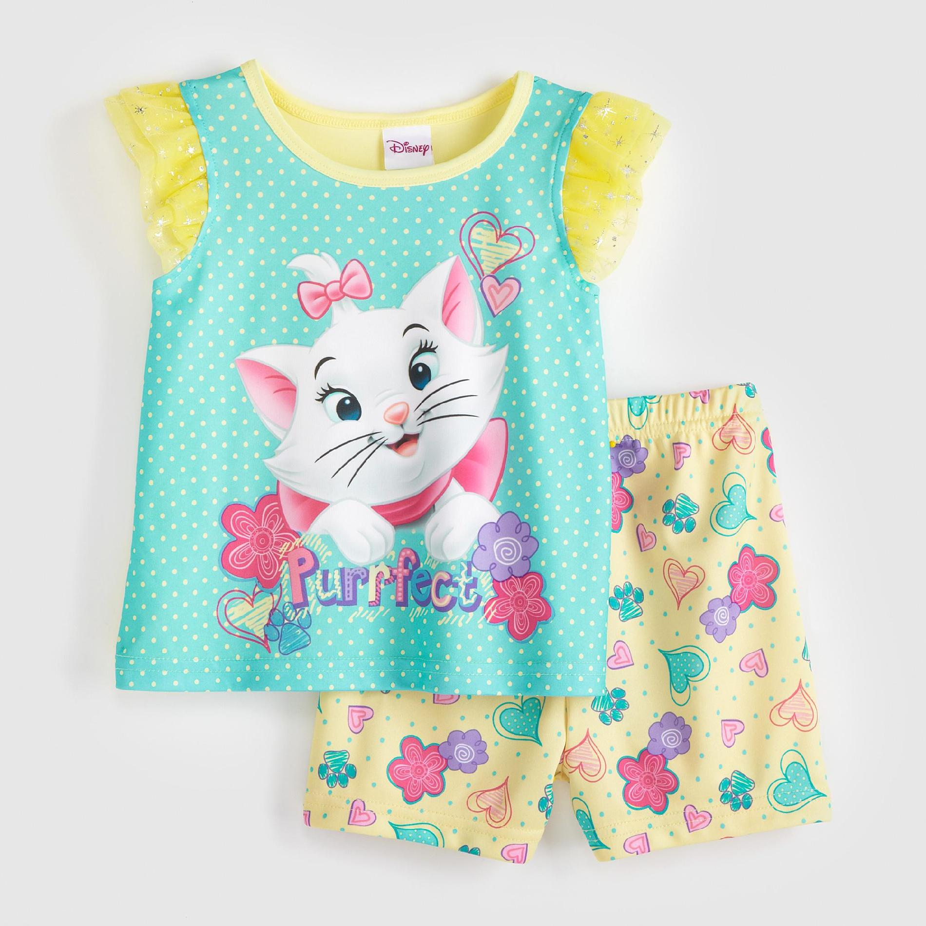 Top Infant Baby Toys Disney Aristocats Marie Infant Toddler Girl 39;s Pajamas