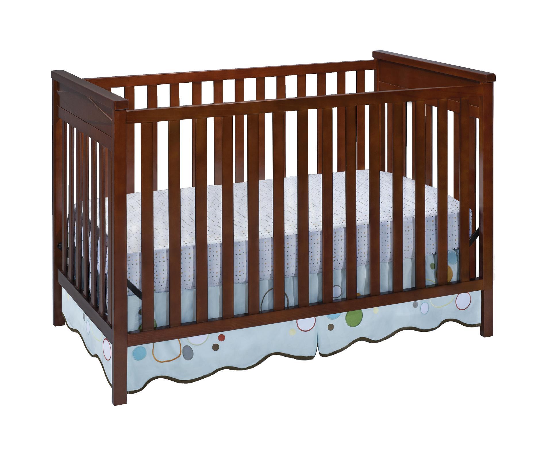 Delta Children Diamond 3 In 1 Crib Dark Cherry Baby