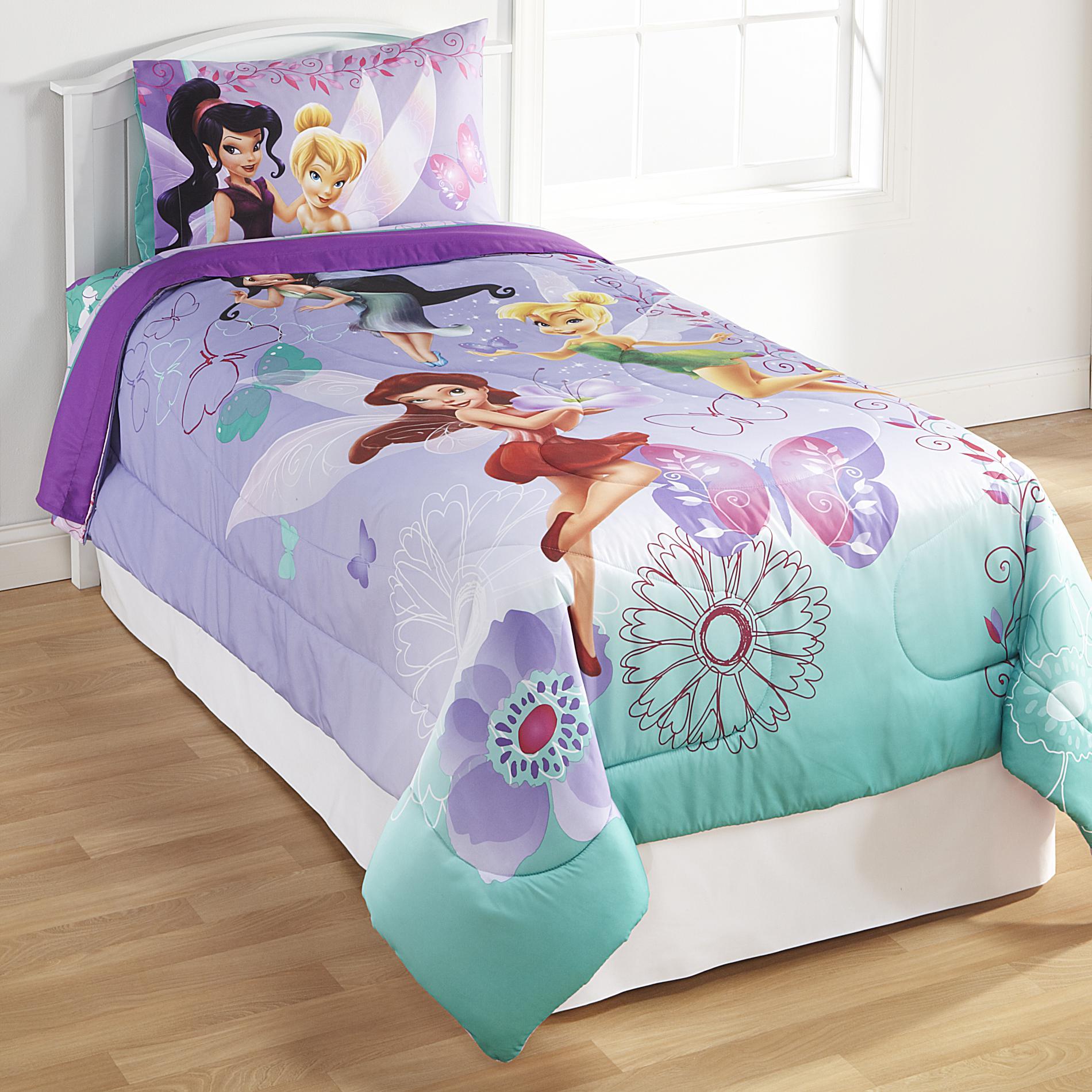Baby Girl Bedroom Wallpaper Disney Fairies Twin Full Comforter