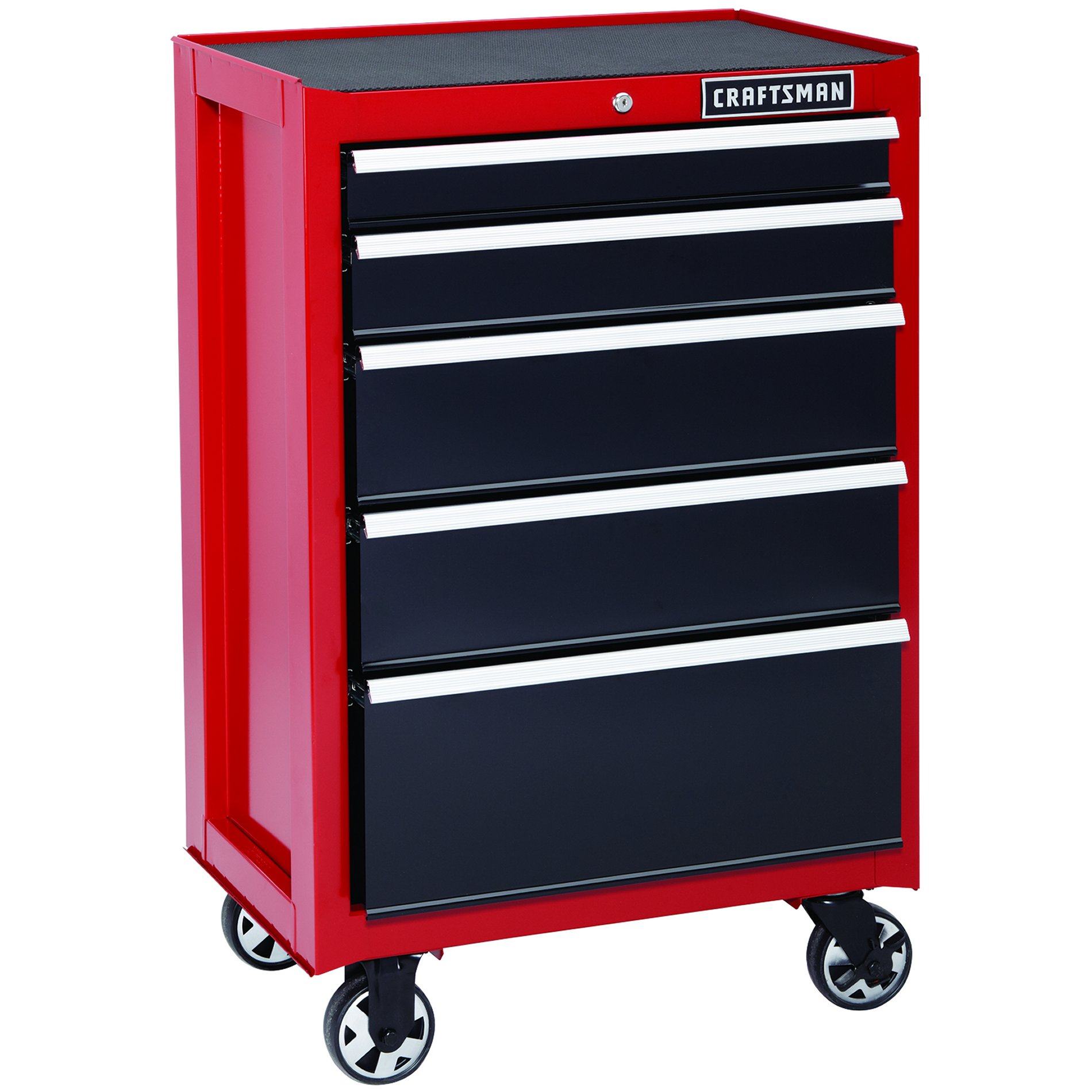 Craftsman 26 In 5 Drawer Heavy Duty Ball Bearing Rolling
