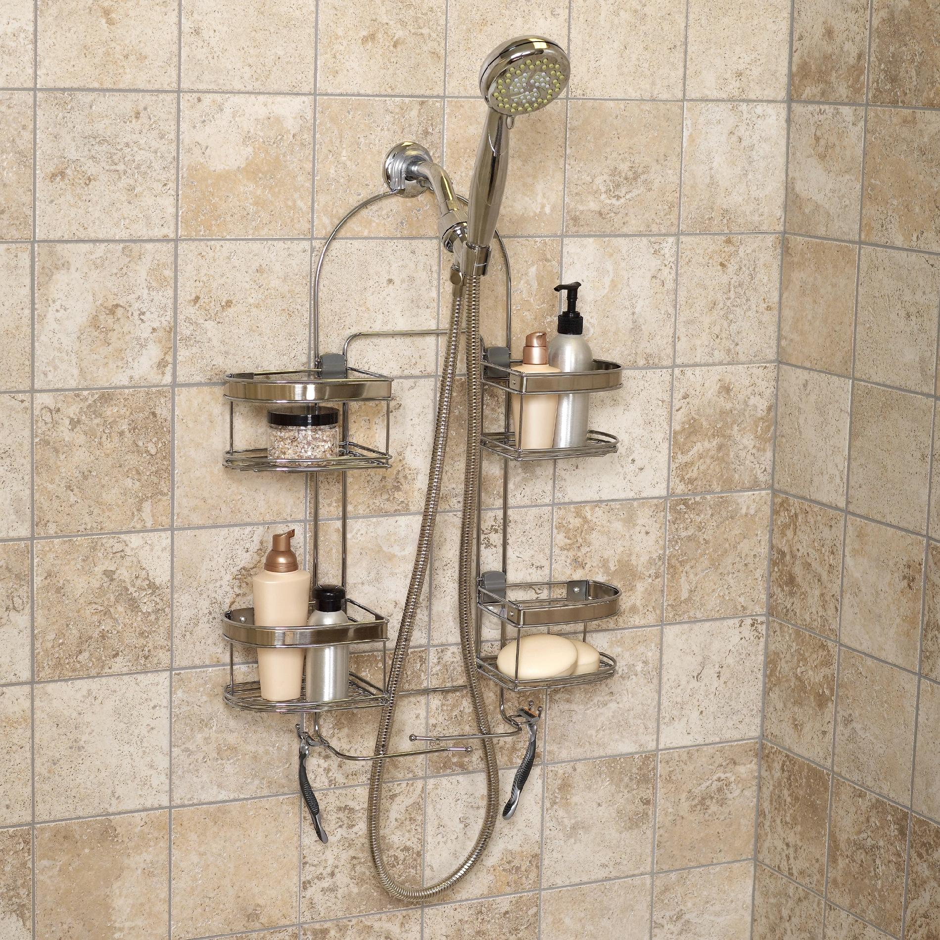 Bathroom Caddy Zenith Products Quotkemp Quot Premium Over The Shower Caddy