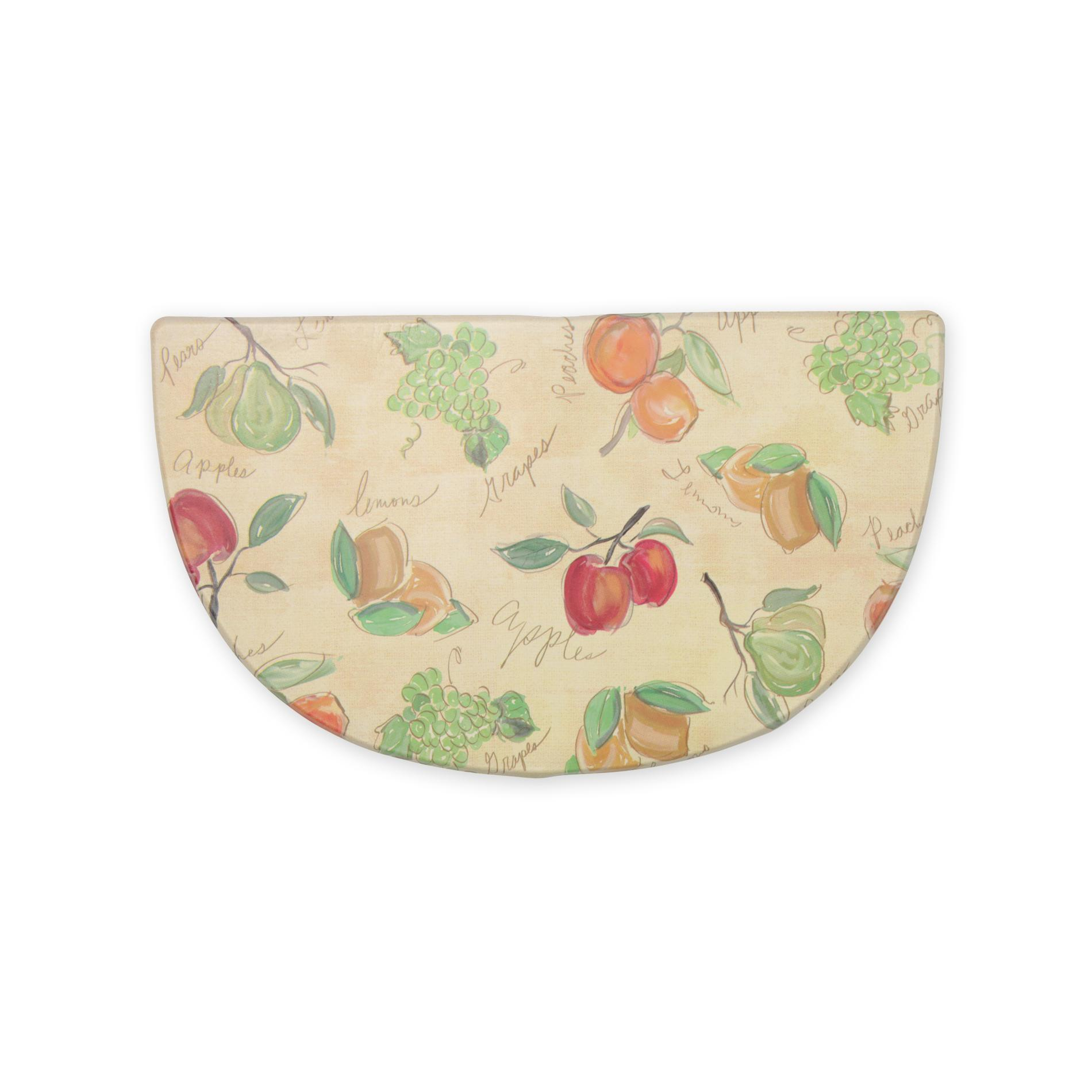 Kitchen Mats Spotlight Fruits Foam Kitchen Rug Add Comfort And Cheer To Your