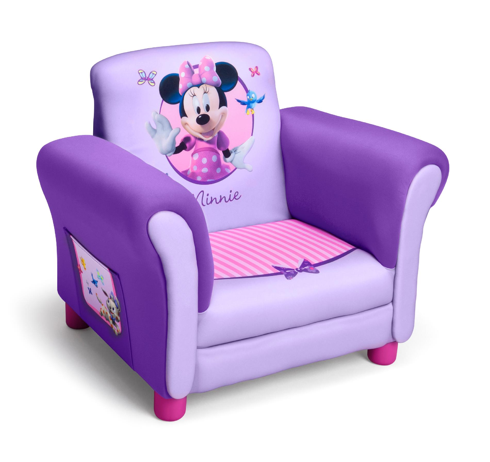 Upholstered Children's Chairs Upc 080213027476 Delta Minnie Mouse Purple Upholstered