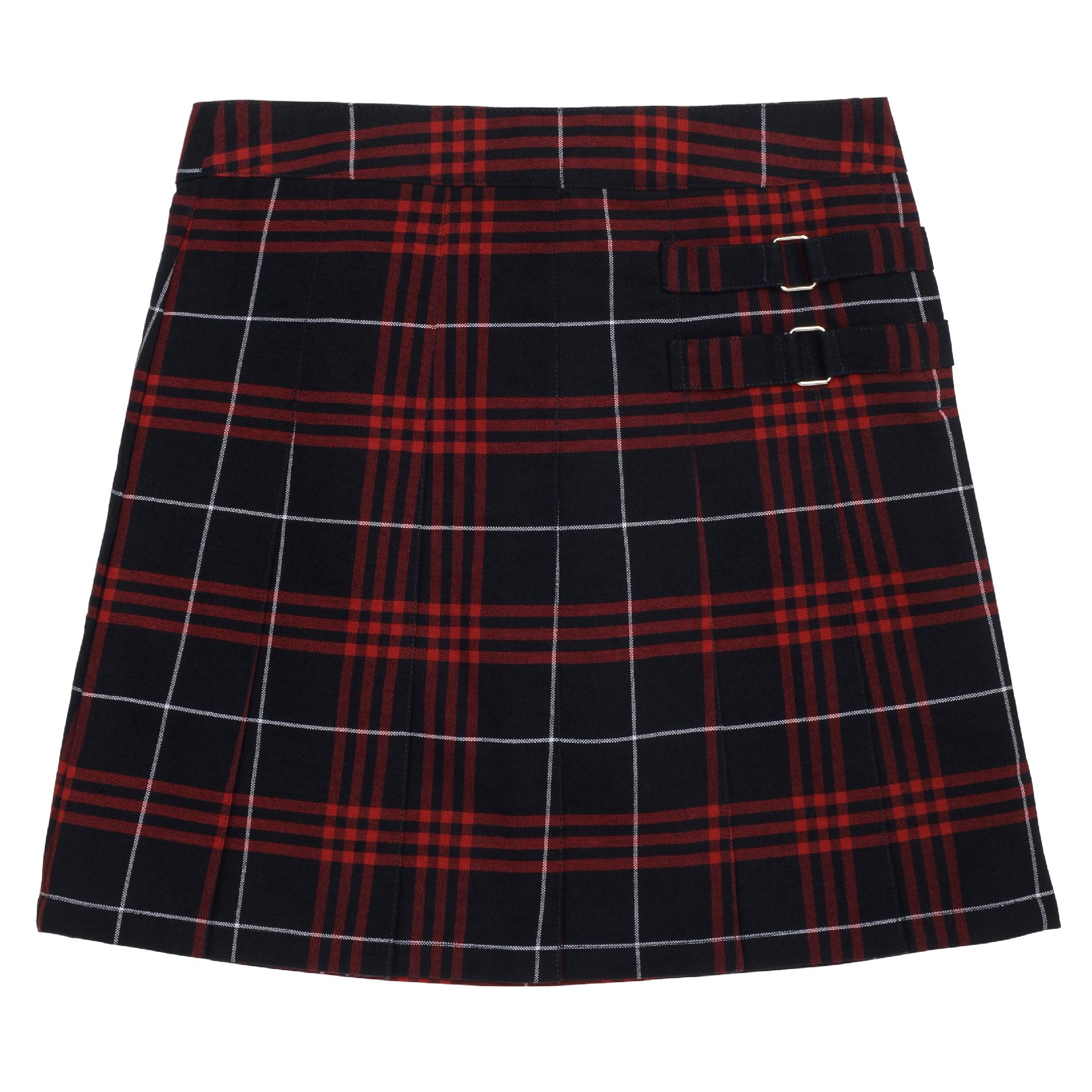 School Skirts Kmart At School By French Toast Girls Navy Red Plaid Two Tab