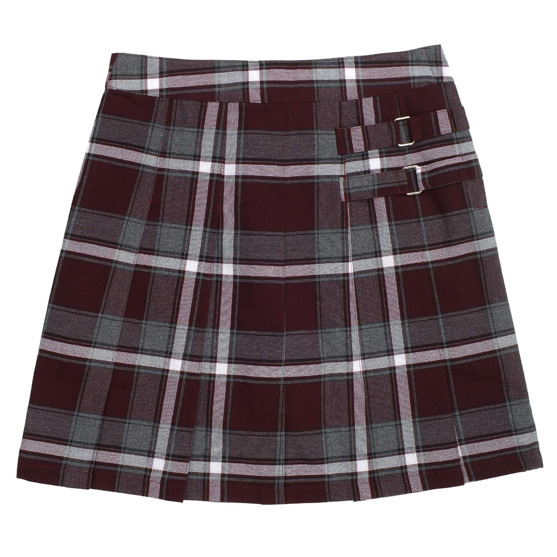 School Skirts Kmart At School By French Toast Girls Burgundy Plaid Two Tab