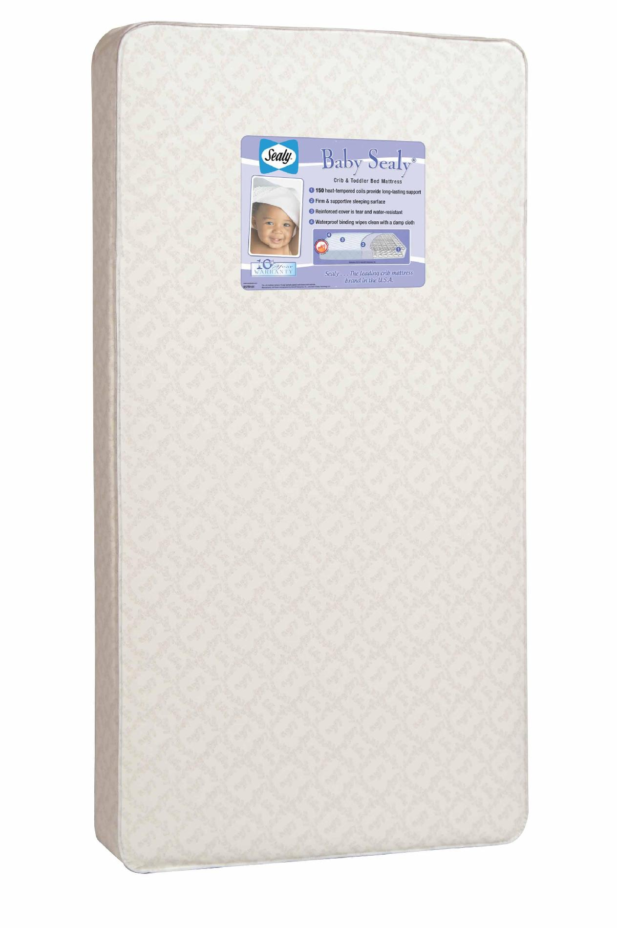 Baby Mattress Kmart Sealy 150 Coil Count Crib Mattress