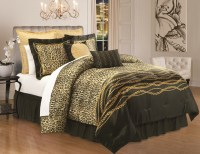 Kardashian Kollection Home Safari Luxe Comforter Set