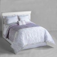 Jaclyn Smith Lilac Zanzibar Sheet Set