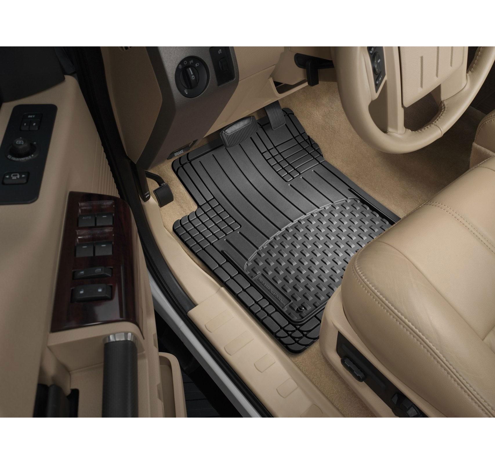 Weathertech avm semi universal trim to fit mats black 4 piece set