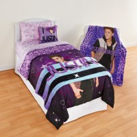 Justin Bieber Girl's Twin Comforter - Home - Bed & Bath ...