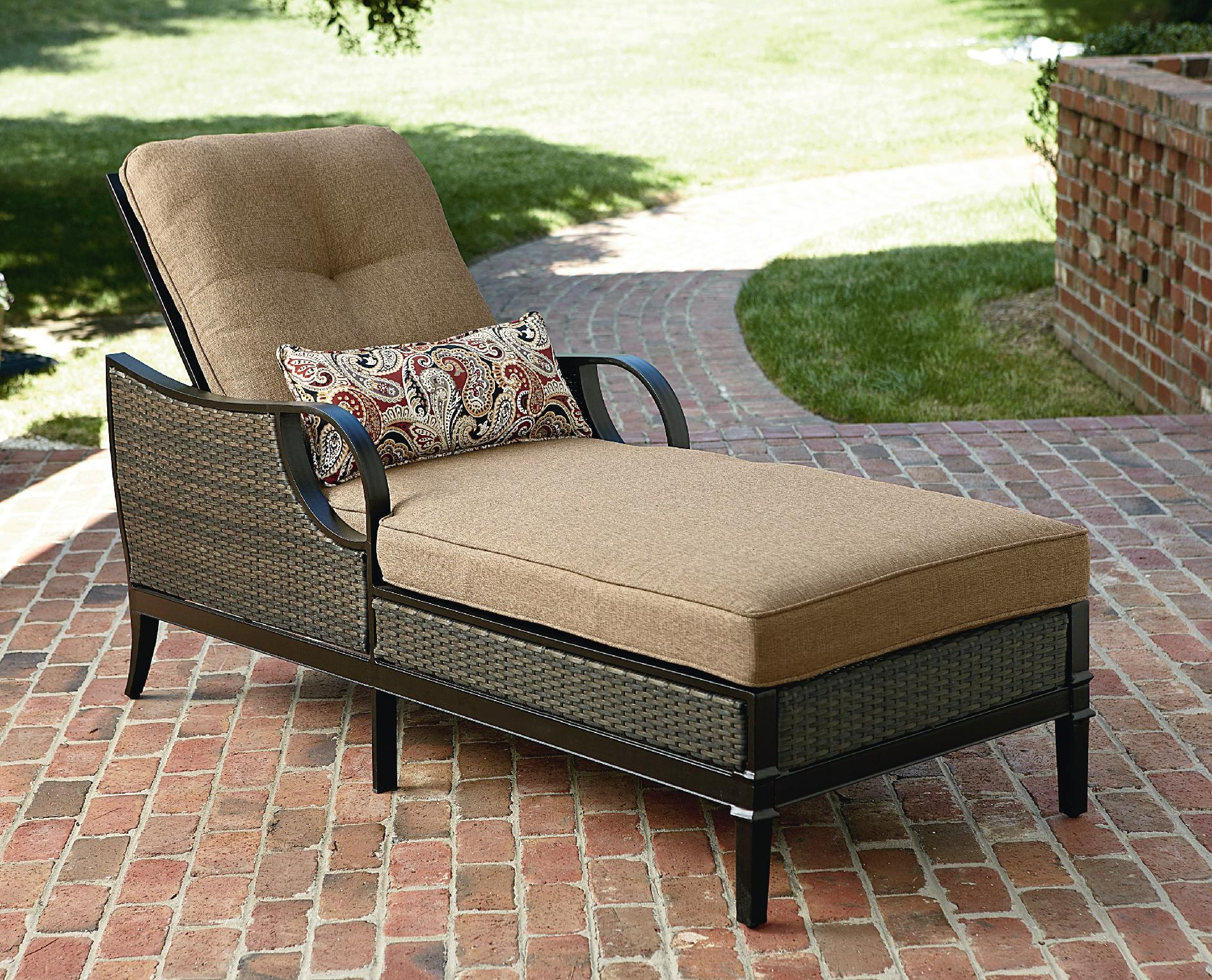 Outdoor Chaise Lounge La Z Boy Outdoor Charlotte Chaise Lounge