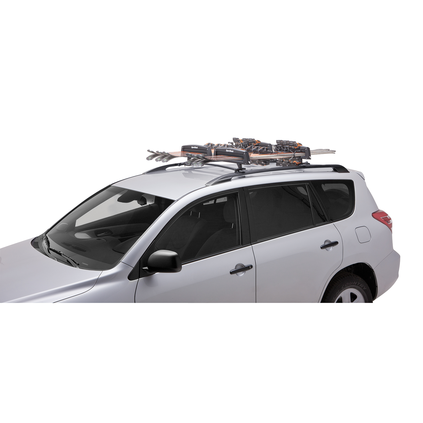 Sportrack Locking Roof Ski Snowboard Carrier
