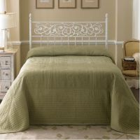 Country Living Tile Bedspread - Tea Green - Home - Bed ...