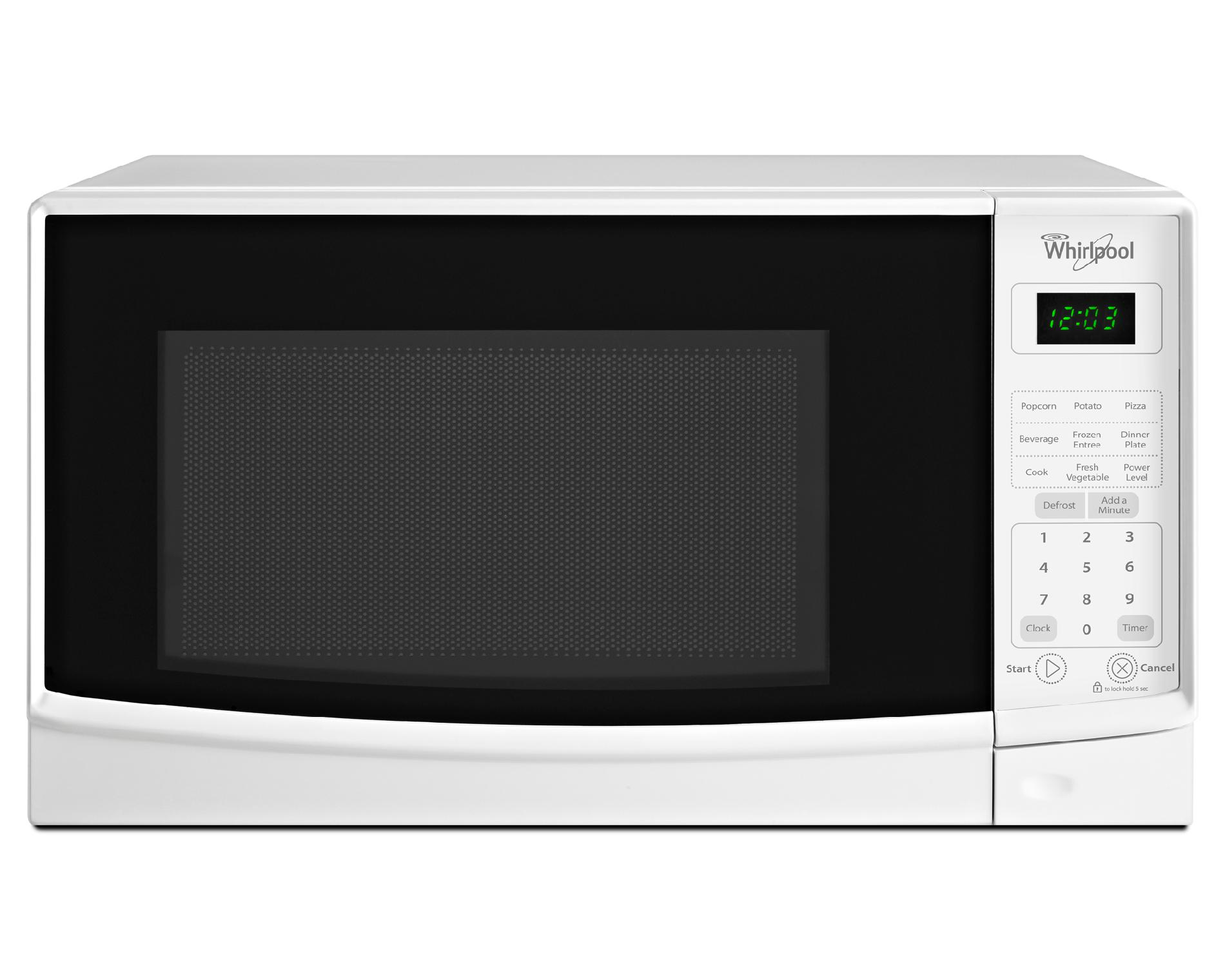Small Countertop Microwaves Whirlpool 7 Cu Ft Compact Countertop Microwave W Add