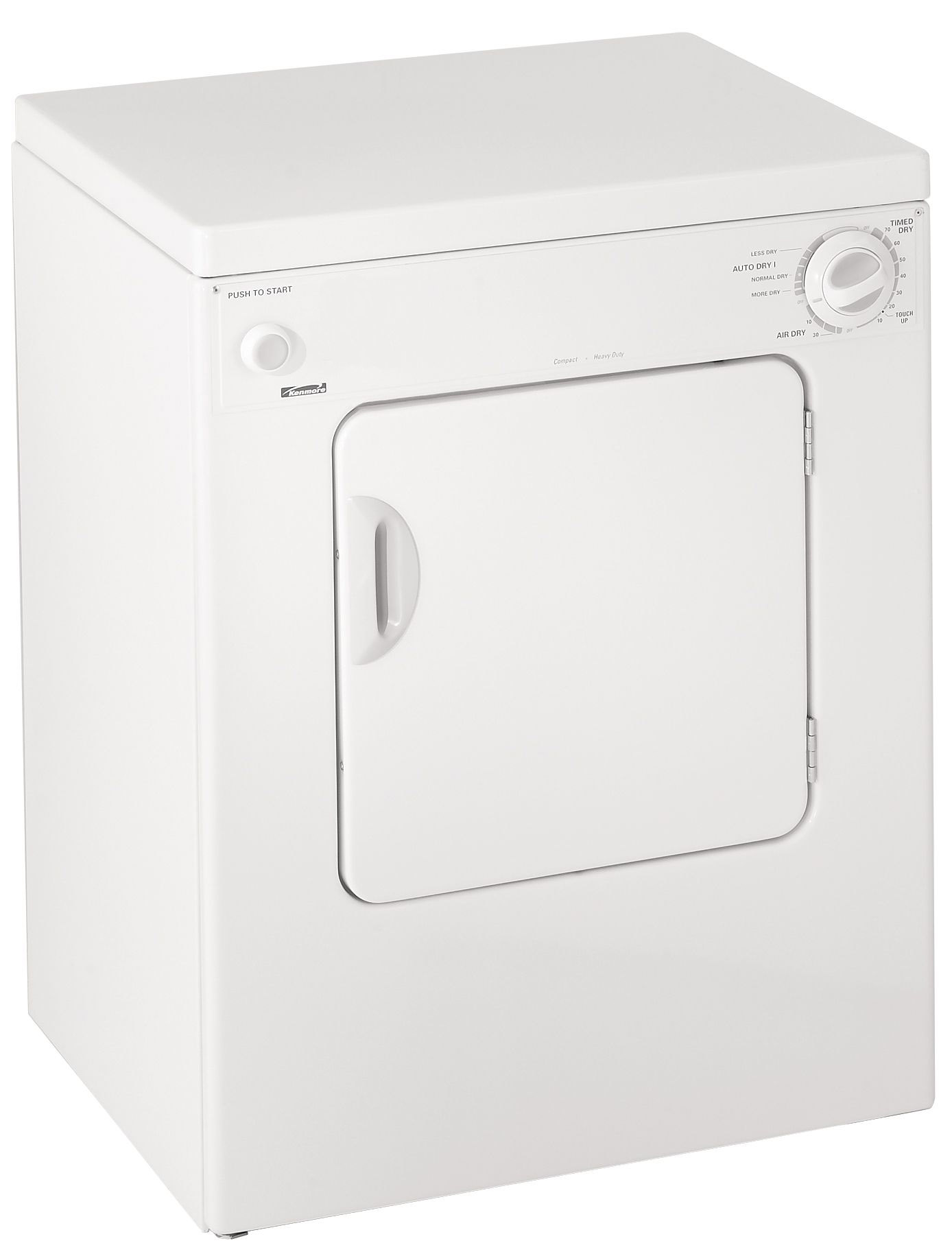 Small Clothes Dryer Kenmore 84722 3 4 Cu Ft Electric Compact Portable Extra